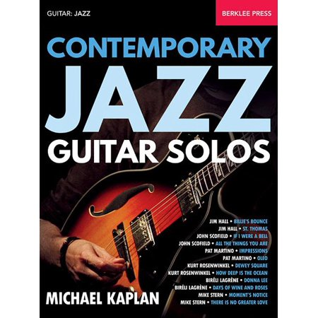 Contemporary Jazz Guitar Solos (Paperback)
