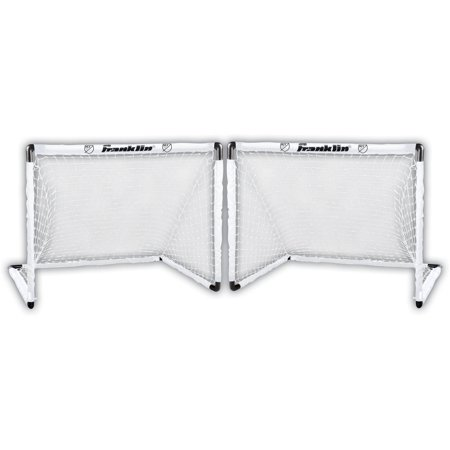 Action Soccer Goal - Franklin 4.5' x 3' Sports MLS Kid's 2 Goal Soccer Set (Includes 8 Ground Stakes)
