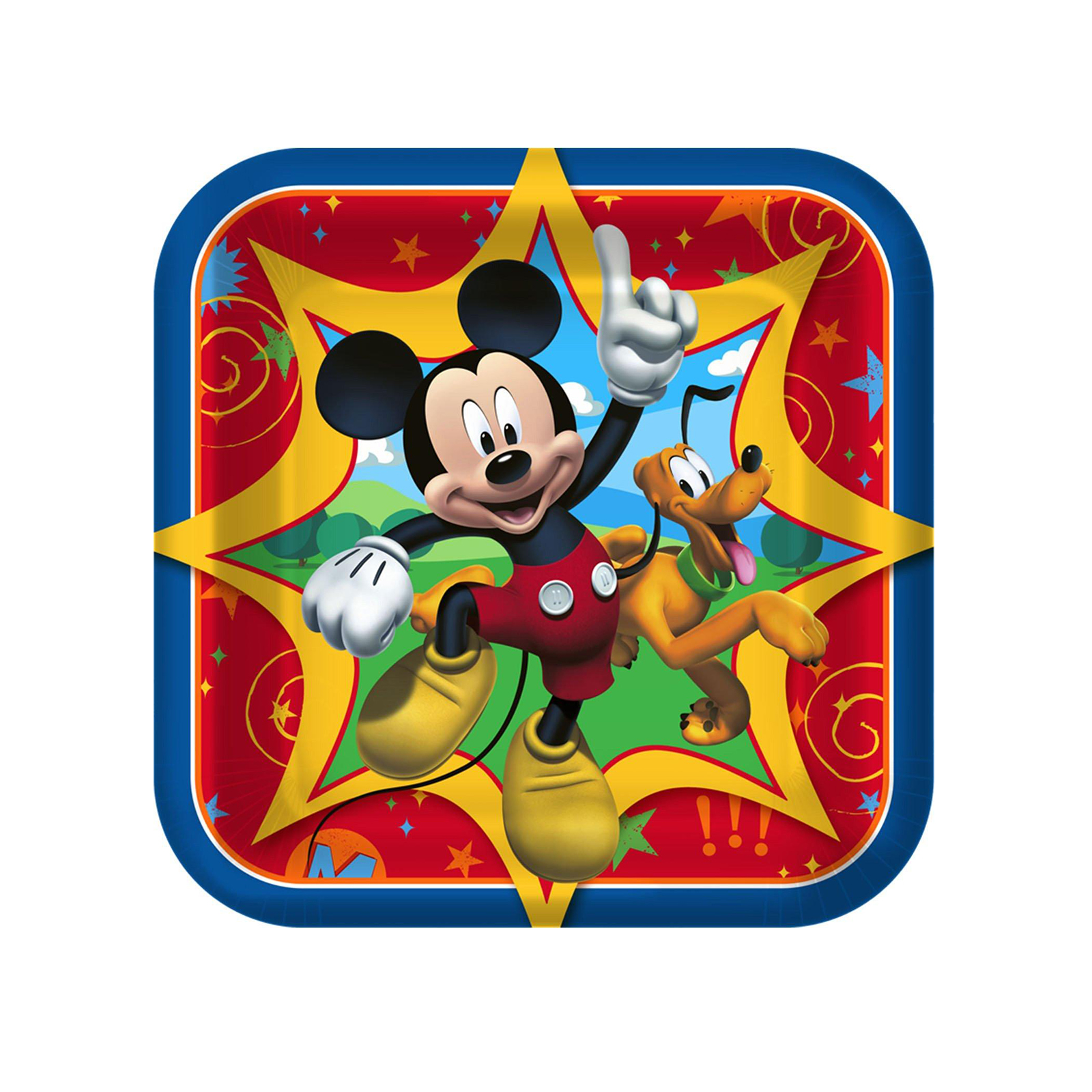 Mickey Mouse Party Supplies 24 Pack Dessert Plates