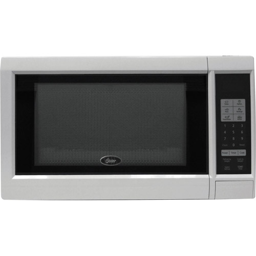 Oster 0.9-Cubic Foot Microwave Oven, White