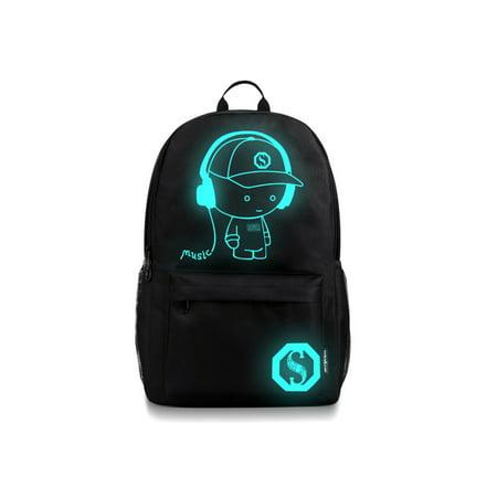 Men's fashion trend primary school Korean youth backpack men's shoulder bag travel bag junior high school student