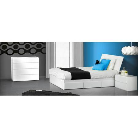 4 Pc Eco Friendly Bedroom Set