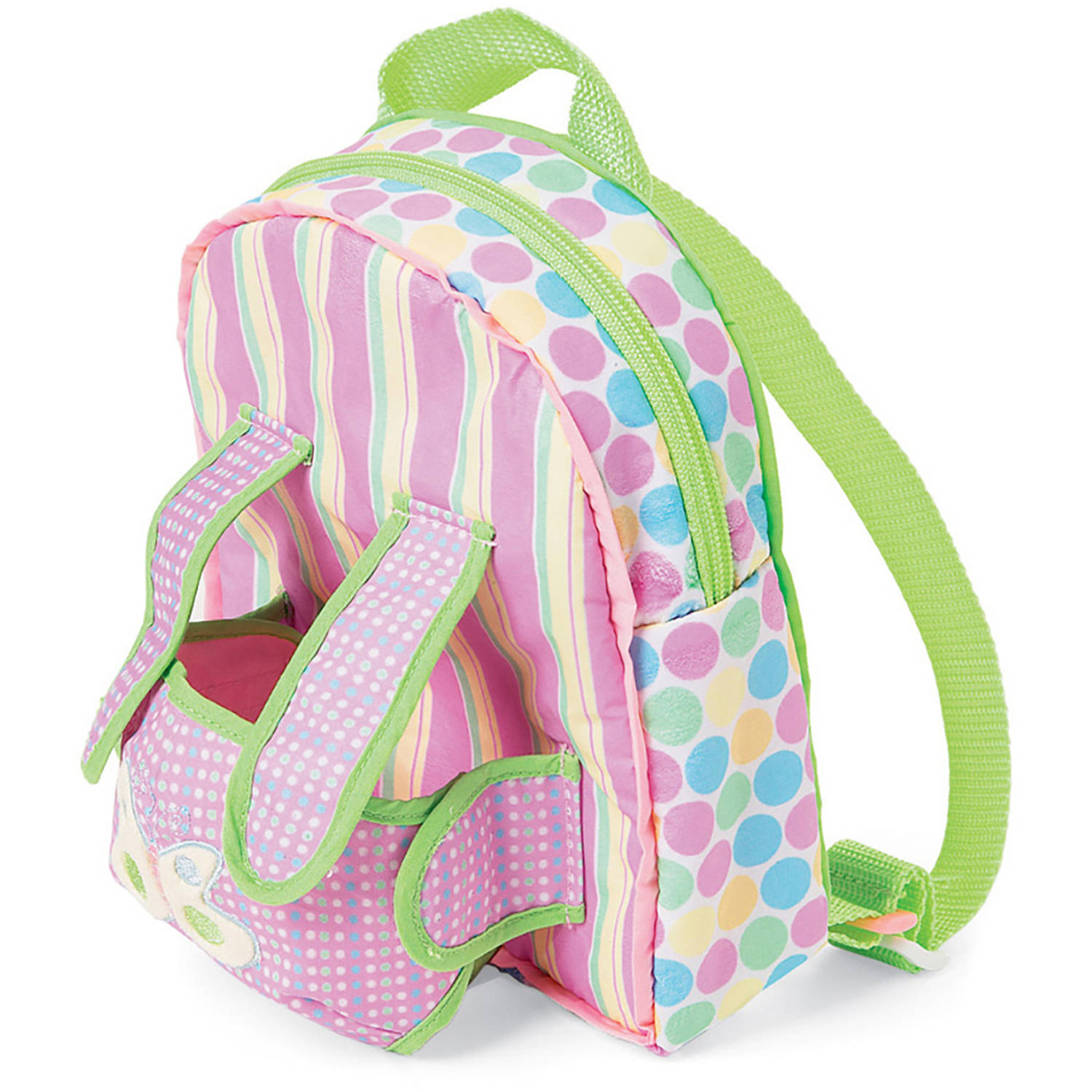 """Manhattan Toy Baby Stella, Backpack Carrier 15"""" Baby Doll Accessory"""