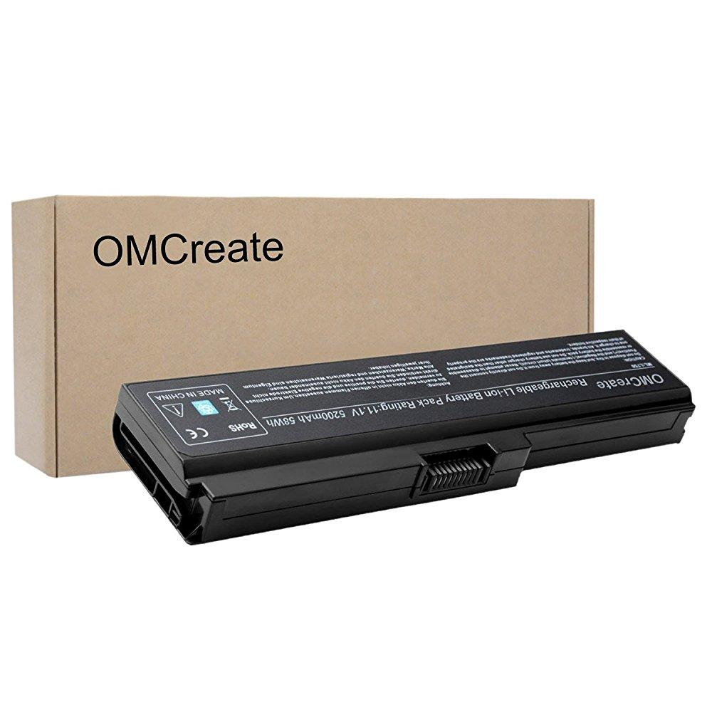 omcreate laptop battery [ with samsung cells] for toshiba pa3817u-1brs pa3819u-1brs toshiba satellite c655 l600 l675 l675d l700 l745 l750 l750d l755 l755d m640 m645 p745 series - 24 months warranty