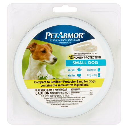 PetArmor Flea and Tick Collars for Small Dogs, 12 Months