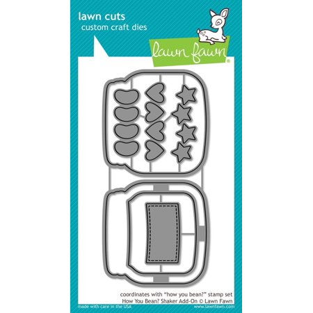 Lawn Cuts Custom Craft Die - LF1327 How You Bean Shaker Add-On Ship from US - Vintage Halloween Die Cuts For Sale