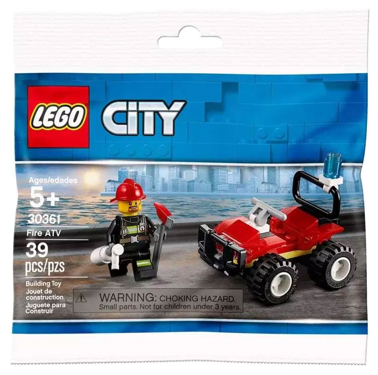 Lego City 30367 Police Helicopter Polybag 39 pieces new 2020