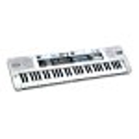 6ee8035123a Plixio 61 Key Mid-Size Electronic Piano Keyboard with Music Lesson Mode    Adapter - Walmart.com