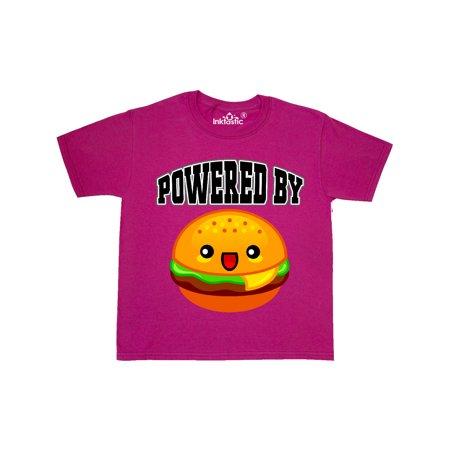 Hamburger Powered by Burgers Youth T-Shirt