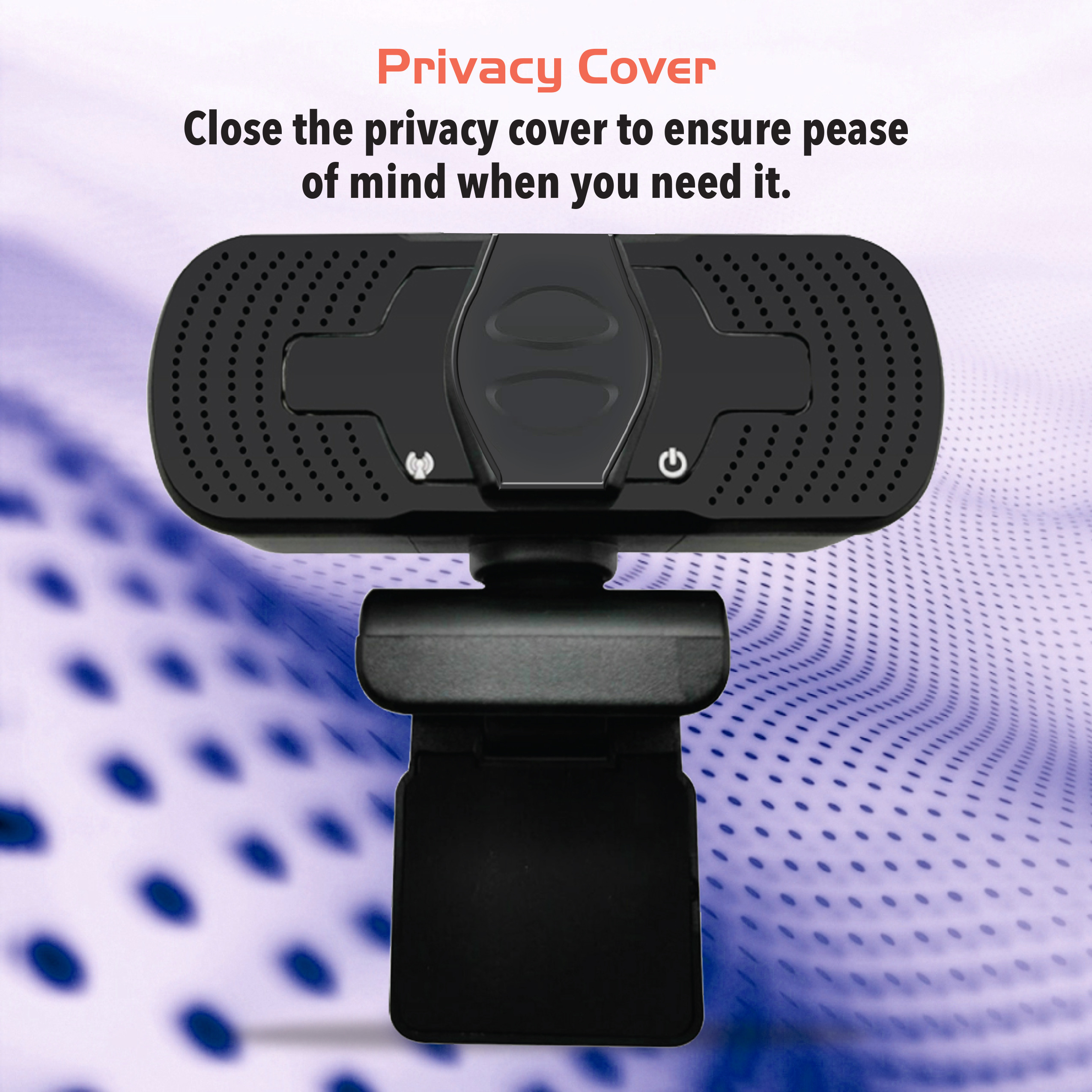 YESKAMO 1080P Webcam with Microphone /& Privacy Cover USB Webcams 360/° Rotation for Desktop Wide angle 110 degree Computer cameras Web Cameras for Laptop Compatible with Windows Mac Android