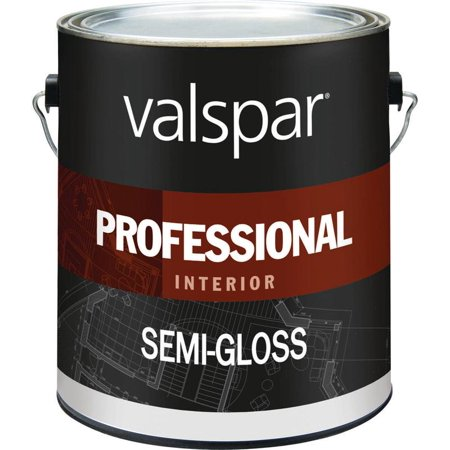 Valspar Semi Gloss Light Base Interior Latex Paint in White