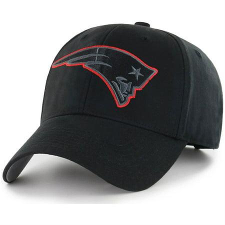 NFL New England Patriots Black Mass Basic Adjustable Cap/Hat by Fan Favorite