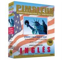 Instant Conversation English for Spanish : Learn to Speak and Understand English for Spanish with Pimsleur Language Programs