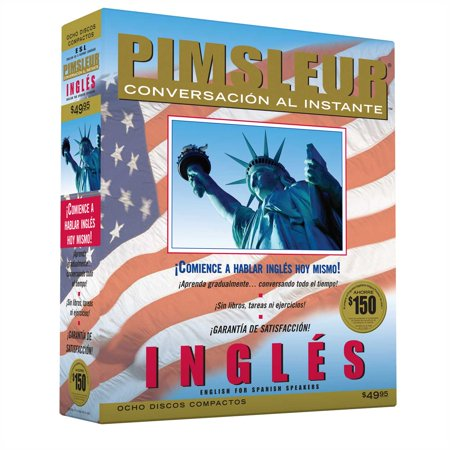 Instant Conversation English for Spanish : Learn to Speak and Understand English for Spanish with Pimsleur Language