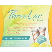 ThreeLac Original Natural Probiotic Candida Relief Formula (60 servings)