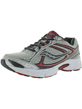 Saucony Mens Grid Cohesion 7 Walking Gym Running Shoes Gray 8 Wide (E)