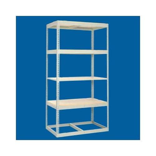 Tennsco Corp. Z Line Low Profile 4 Shelf Shelving Unit Add-On