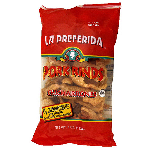 La Preferida Pork Rinds, 4 oz (Pack of 12)