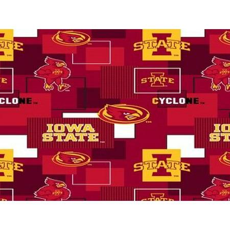 NCAA Iowa State Fabric, per Yard
