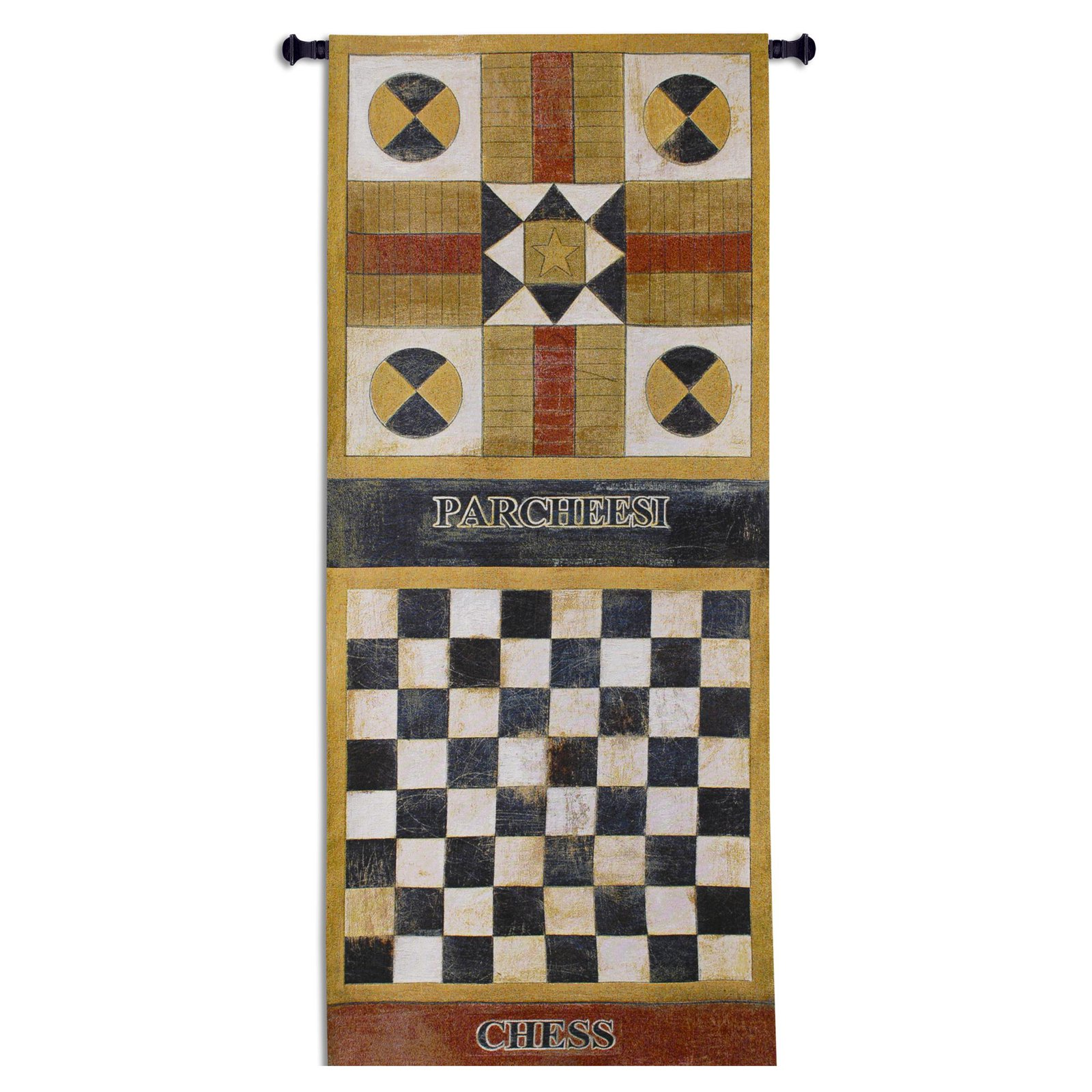 Fine Art Tapestries Game On I Wall Tapestry by Supplier Generic