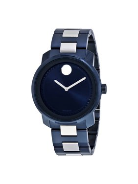 9968aa4b494 Product Image Movado Bold Blue Dial Mens Watch 3600422