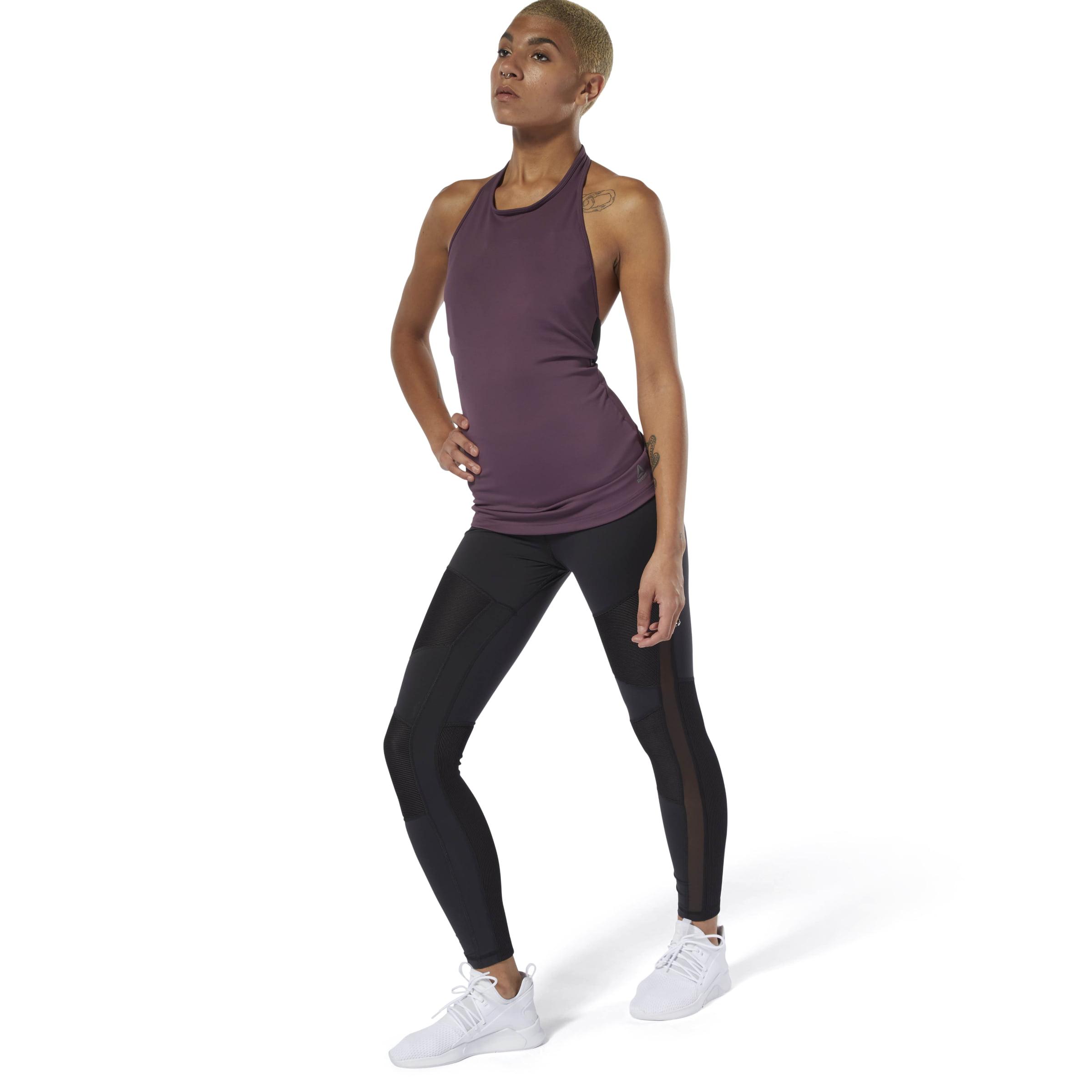 reebok high waist tight fit