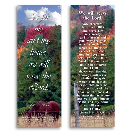 We Will Serve the Lord - Bible Cards - Pack of - Halloween And The Bible