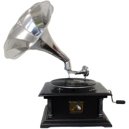 EC World Imports Antique Replica RCA Victor Phonograph Gramophone