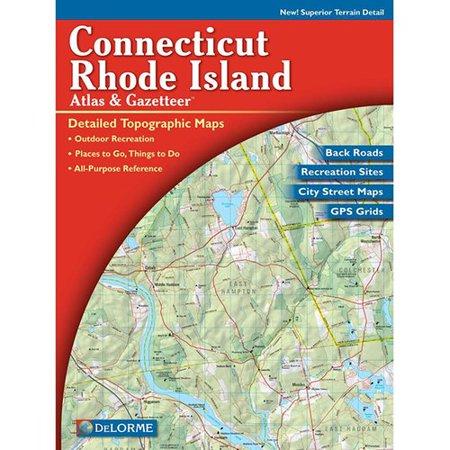 Universal Map Connecticut/Rhode Island Atlas/Gazetteer