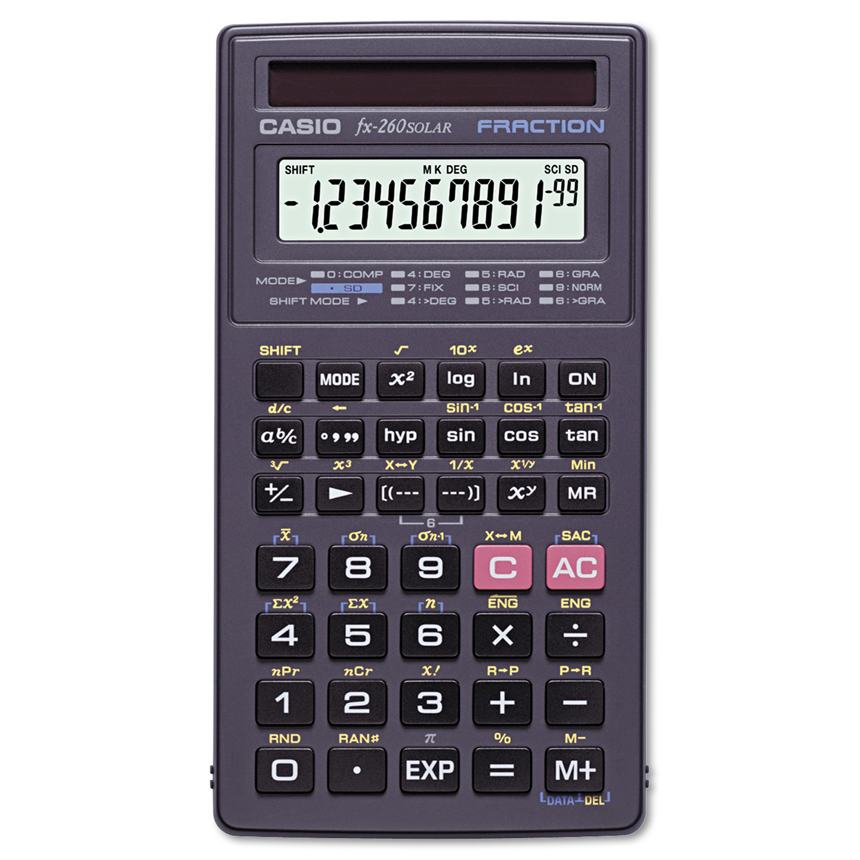 Casio FX-260SLRSC Scientific Calculator by Casio, Inc.