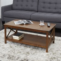 Better Homes & Gardens Coffee Table Clayton X Side Cherry Finish