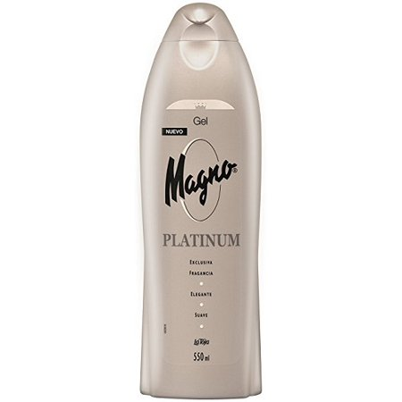 Magno Platinum Shower Gel Bottle 550ml