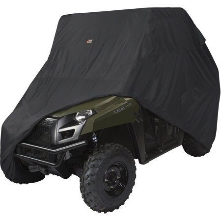 Classic Accessories QuadGear UTV Storage Cover, UTV Cover Fits Mid-Sized 2 passenger UTVs up to 113
