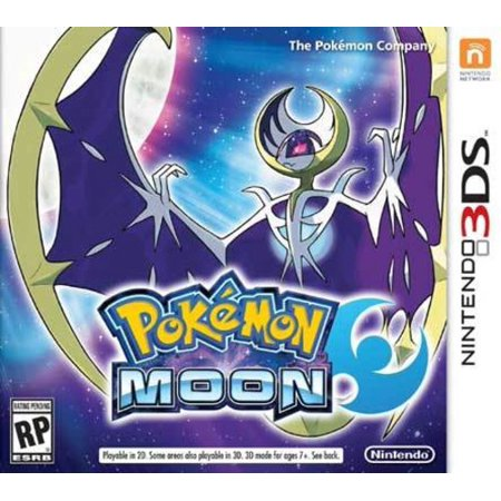 Pokemon Moon, Nintendo, Nintendo 3DS, 045496743949