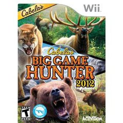 Cabelas Big Game Hunter 2012 - Nintendo Wii (Refurbished) Pre-owned video game in very good condition.  Comes with case with original artwork and game disc.  Case may have some wear as it is a used item.  Game disc may have been refurbished.  Game has been tested to ensure it works.