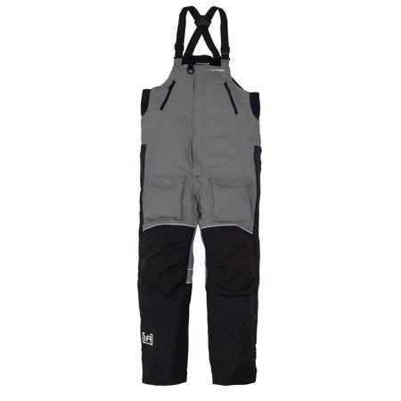 NEW Clam Outdoors IceArmor Edge Cold Weather 300D Bib - Charcoal/Black