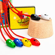 Wooden Mouse Catching Game Creative Children Interactive Catch Mouse Desktop Toy