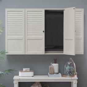 Ikea Cabinet with 4 compartments, orange , Suspension rail, Basket