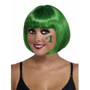 Green Bob Wig Halloween Costume Accessory