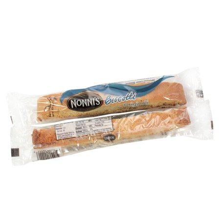 Nonnis Biscotti - Nonnis New York Style Originali Biscotti Individual Wrapped 1 Each (PACK OF 48)