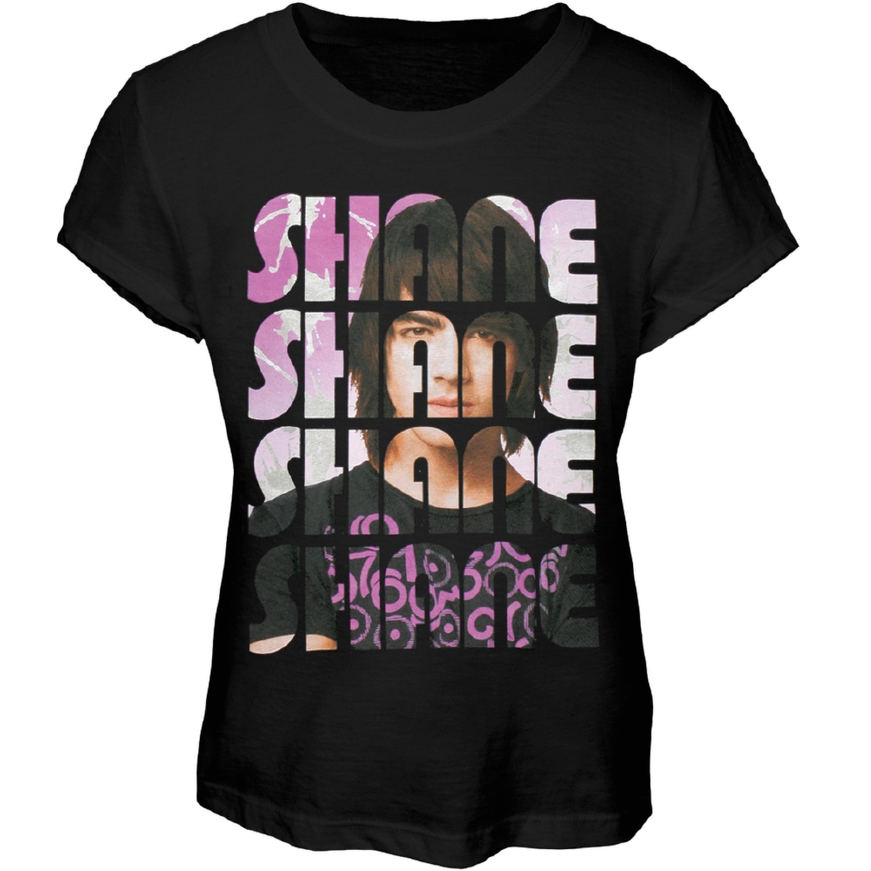 Camp Rock - Shane Text Girls Youth T-Shirt
