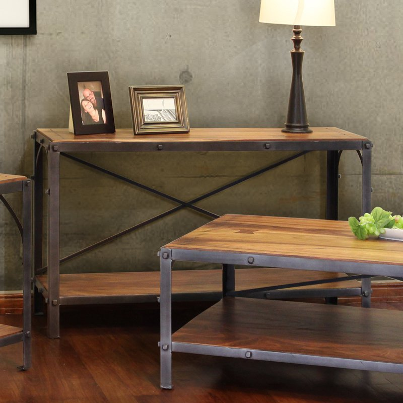 International Furniture Direct Palo Alto IFD266SOFA Sofa Table