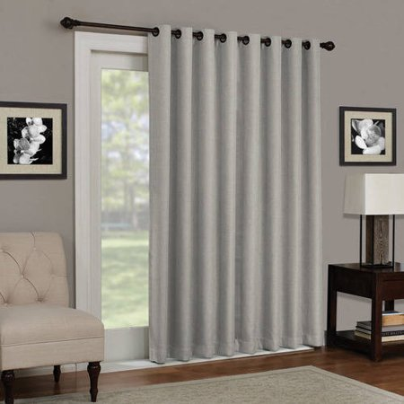 b22c0fad7349 Eclipse Kenley Blackout Patio Door Window Curtain Panel - Walmart.com