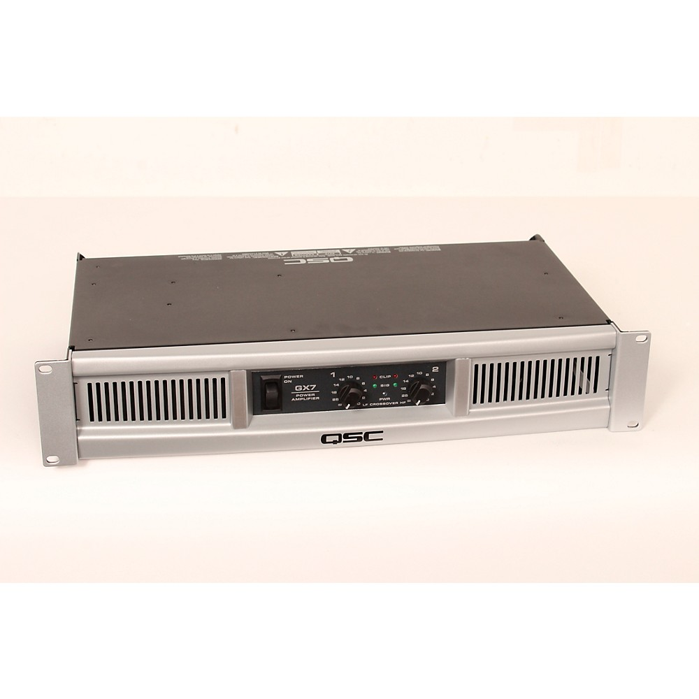 QSC GX7 Stereo Power Amplifier Level 2 Regular 888366034781