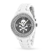 Christmas Gifts Stainless Steel Skull and Crossbones Fashion Watch