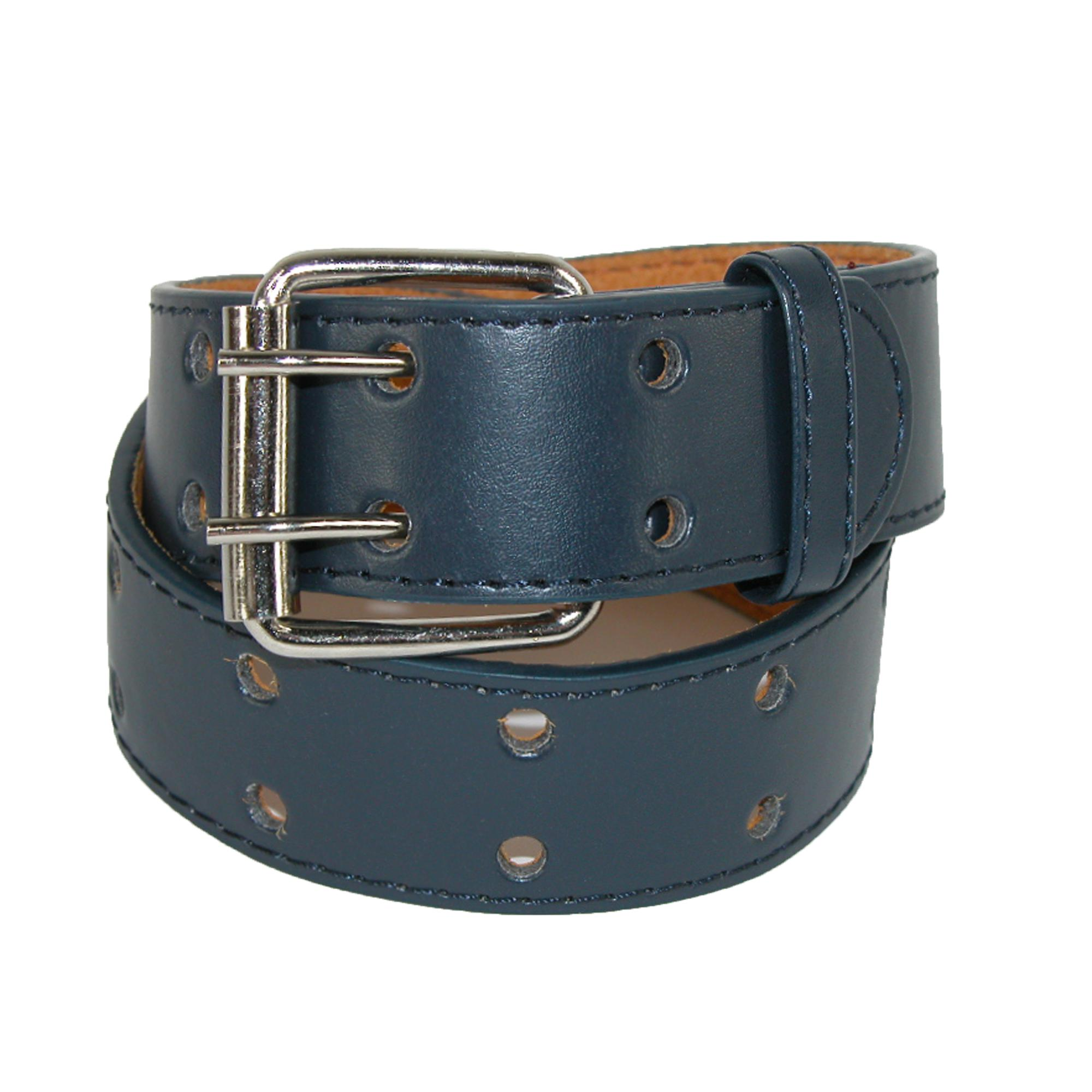 CTM Kids' Leather Two Hole Jean Belt - image 3 de 3