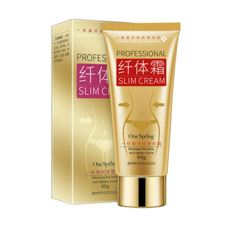 Hot Cream, Extreme Cellulite Slimming & Firming Cream, Body Fat Burning Massage Gel Weight Losing, Hot Serum Treatment for Shaping Waist, Abdomen and