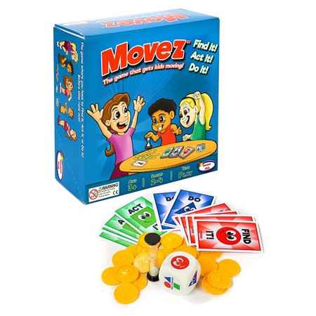 Movez! The Game that Gets Kids Moving!](Get Ready For Halloween Game)
