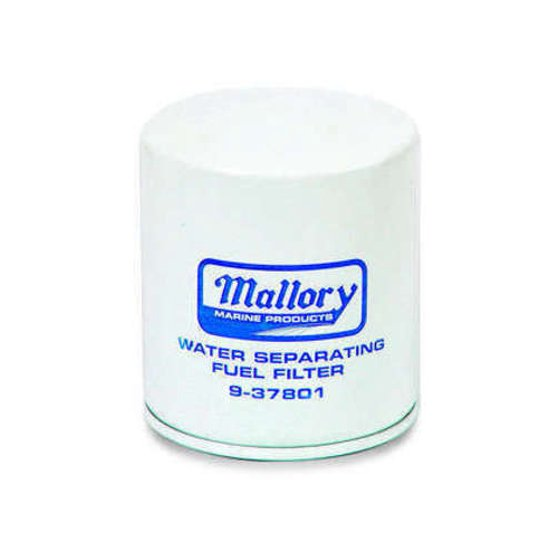 Mallory Filter, Fuel Water Sep. 9 9-37801 on
