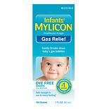 Mylicon Infant Gas Relief Drops Dye Free Formula1.0 oz.(pack of 3)